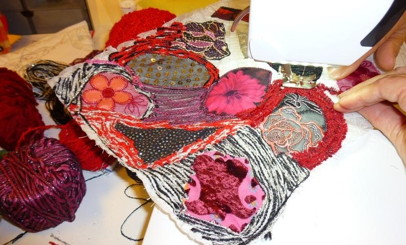 Art Textile avec coudreetbroder.com