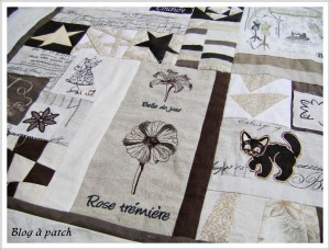 patchwork pour CoudreetBroder.com