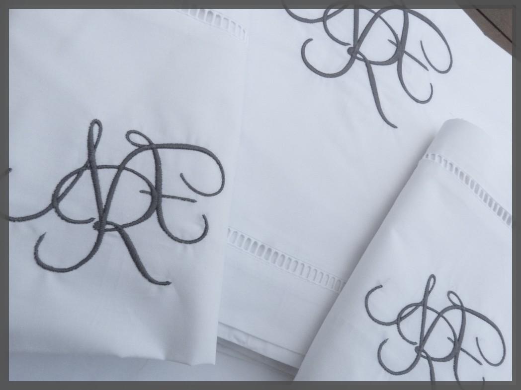 Monogramme de Brod' et Pique pour www.coudreetbroder.com
