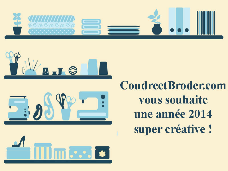 voeux 2014 www.CoudreetBroder;com