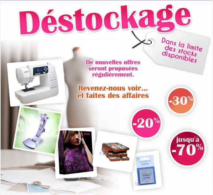 DESTOCKAGE chez Coudreetbroder.com !