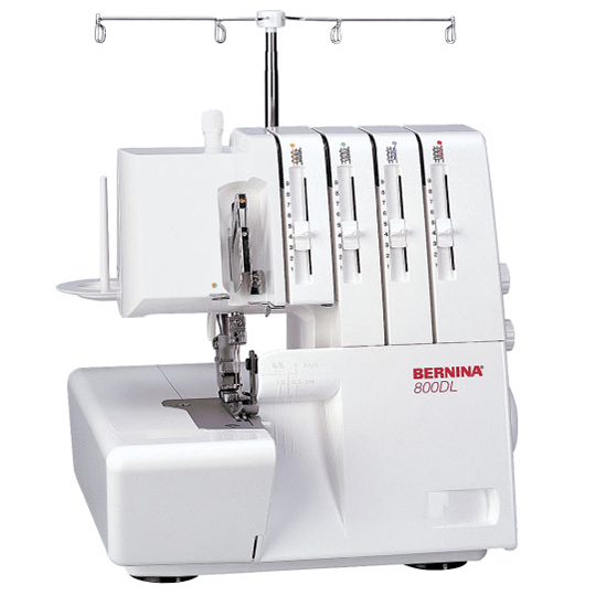 Comment enfiler sa surjeteuse Bernina 800DL et 700D ?