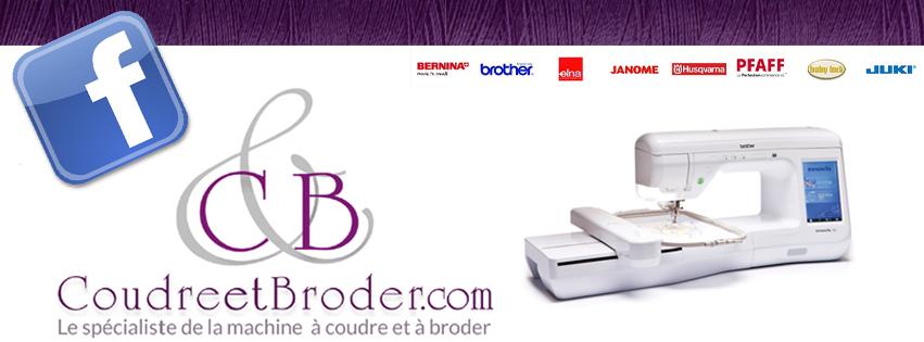 CoudreetBroder.com est sur Facebook