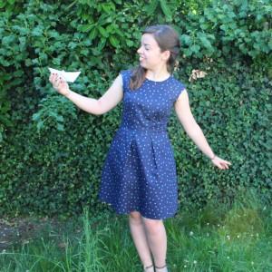 la robe bleu de Louise