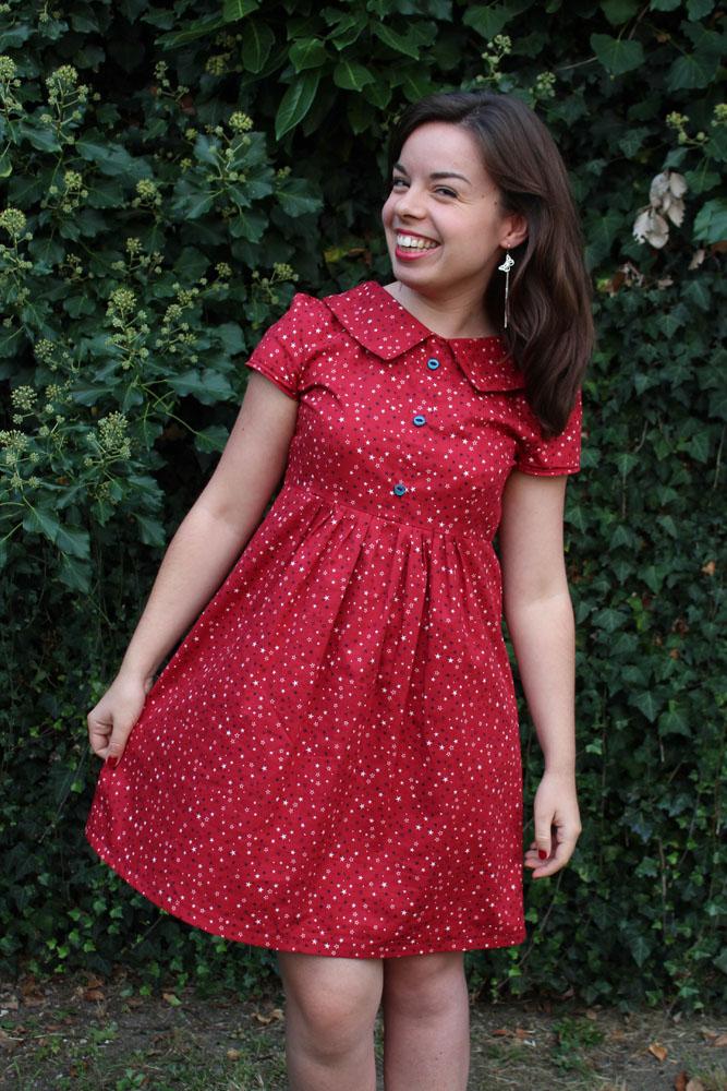 La robe rouge des Lubies de Louise