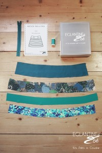 Eglantine et Zoë, la jupe en kit